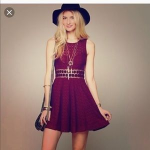 Free people daisy cut out dress